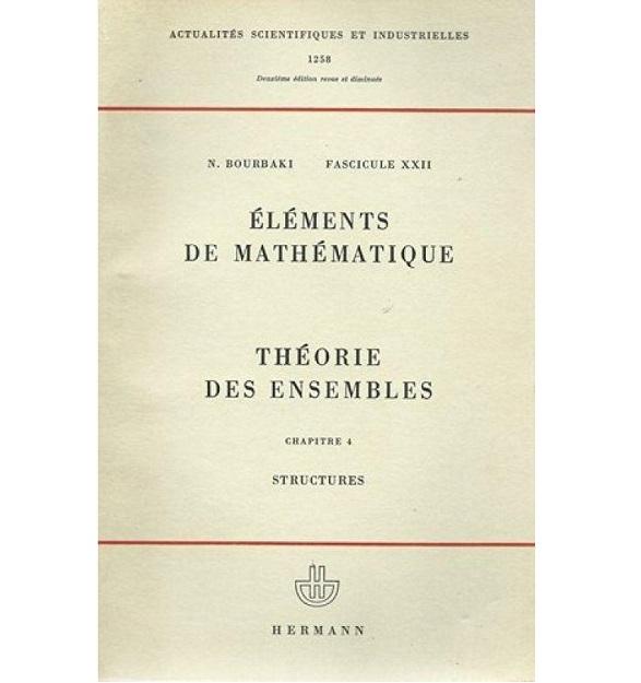 Eléments de mathématique